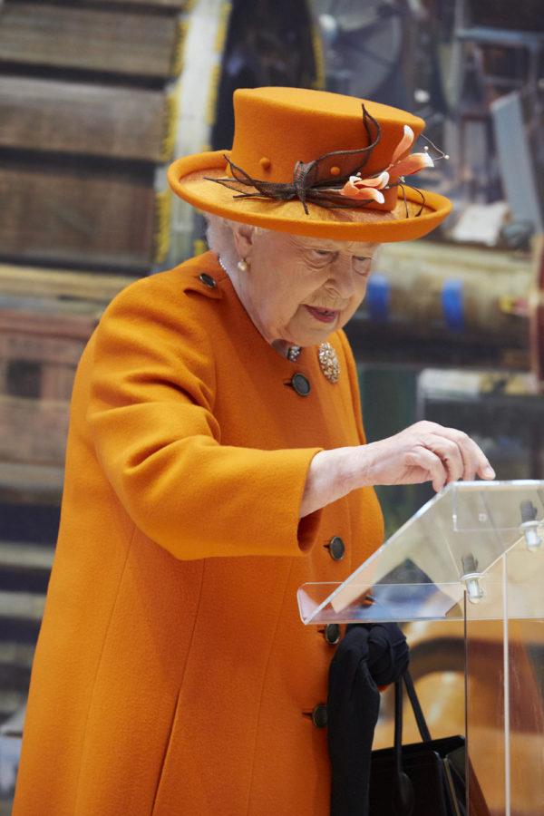 Queen shares first Instagram post