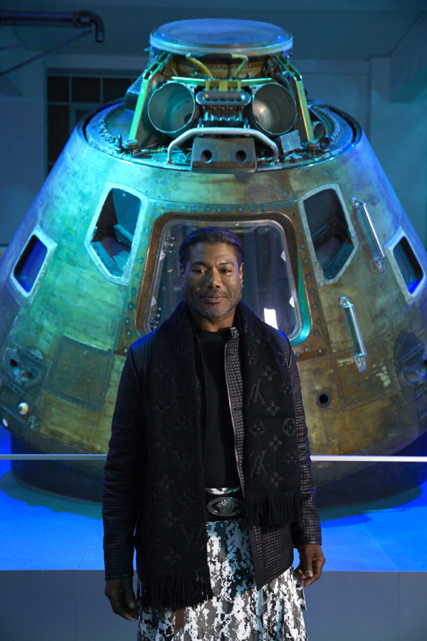 Christopher Judge + Apollo 10 capsule